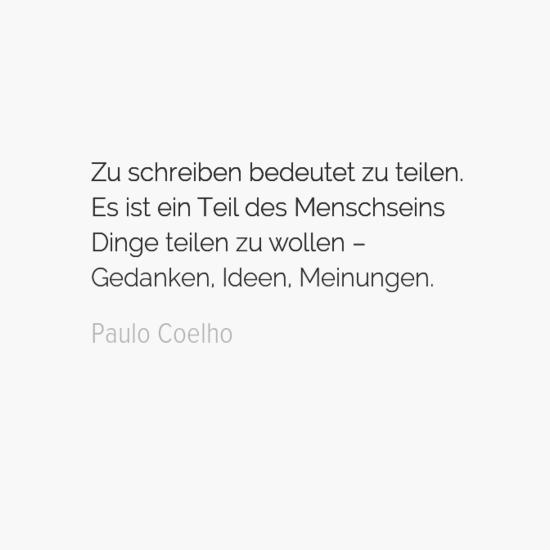 Die Besten Zitate Von Paulo Coelho Psychologie Einfach De